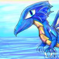 Colorful Water Dragon by Eternalskyy