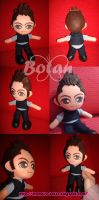 chibi Tiziano Ferro plush version by Momoiro-Botan