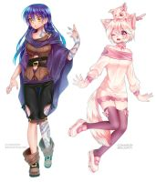 Fullbody commissions by ShineArtworks