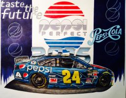 Jeff Gordon 2015 Pepsi Car (Pepsi Perfect) by JonOwens