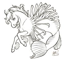 Lionfish lines by dracontiar