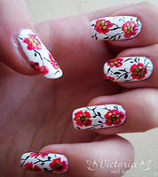 Nail art 18 by ChocolateBlood