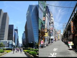 Tokyo's contrasts by skyblue-13