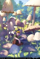 The Taste of Mushrooms by Tohad