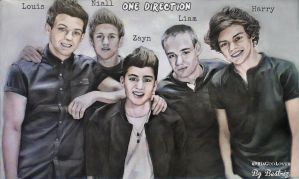 One Direction - Drawing by BeatrizLoveMyJesus