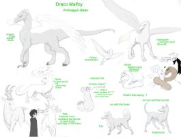 Draco's animagus... which one? by Zatanna89