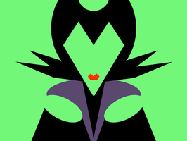 Maleficent -minimal- by Arnumdrusk