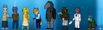 Ruby Quest Cast Sprites by Fiidchell