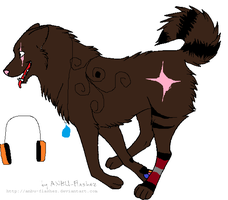 Canine Adoptable -SOLD- 6 points by xXLukaXx