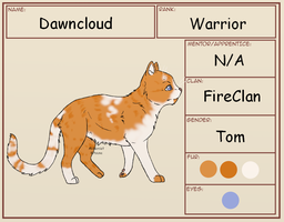Dawncloud Profile by AlchemistKitsune