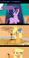 MLP: I Am Breakfast! by AniRichie-Art