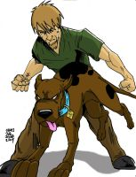 Shaggy and Scooby by James by VPizarro626