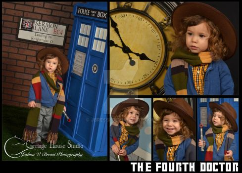 Baby Doctor Who - The Fourth Doctor by Jbressi