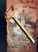 Golden key by isaac77598