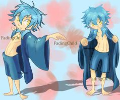 Aoba Chibi Clothes by FadingChild