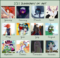 2011 summary of art by W-Lanier