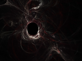 Black Hole Fractal by Ryonyanko