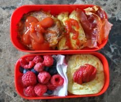 American Breakfast Bento by Demi-Plum
