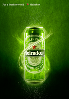 For A Fresher World Heineken by Eres-Graph