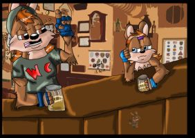 Put in on our  tab by wolfcub