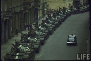 Awkward car in the Soviet Union by ShitAllOverHumanity