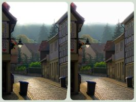 Blankenburg in the Harz Mountains 3D ::: CrossView by zour