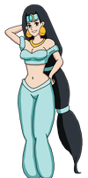 Kin Tsuchi as Jasmine by PerryWhite