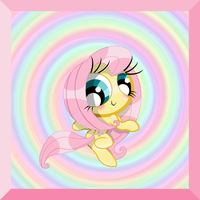 Powerpony: Fluttershy by PowerpuffBaylee