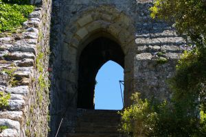 Stairs and Gate by Eiande