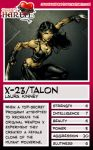 Trading Card - X-23 by jessiesheram