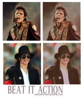 Beat it action by endlessfortune