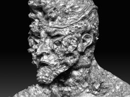 2ND ZBRUSH FACE SIDE by DIVERCITYSTUDIOS