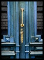 Blue doors by LadybirdM