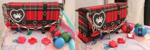 Shugo Chara Amus bag, hairclip and eggs by NanaLaPlegua