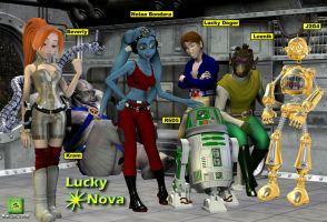 The Crew of the Lucky Nova by lucky2563