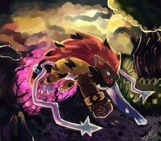 Illuison of Zoroark by LizardonEievui13