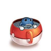 Poliwhirl in a Teacup by Loonalily