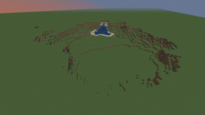 What I do with a flat world., TNT and to much time by CelCel98