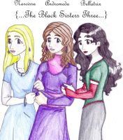 The Black Sisters Three by Linxcat