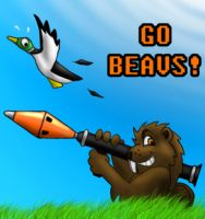 Duck Hunt : Starring Benny by Aurihalcon