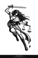 Lady Justice by borjen-art
