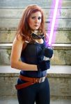 Mara Jade cosplay - Half body by Ani-PinUp