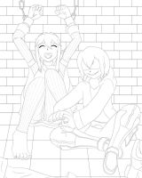 LRRW 1 - Where is the Fire Emblem Lucina (Lineart) by ExaSpirit