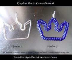 Kingdom Hearts Crown Pendant by MelodiousRoseDuelist