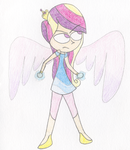 Fight like a Princess- Cadence by LilyQueenOfPurple