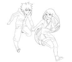Kushina and Minato [OL] by Rainbowhero