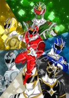 Power Rangers Diamond Clash by Jaetinh