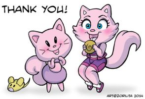 Thank you Commander Kitty by MaryBellamy