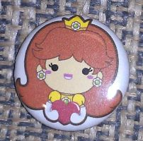 My Princess Daisy pin! by PrincessDaisyRocks10