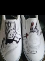 Iron Man shoes process by LovelyAngie